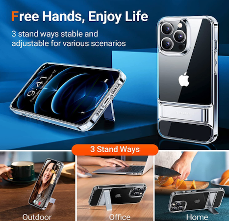Spigen Ultra Hybrid Clear Case for iPhone 13 Pro Max