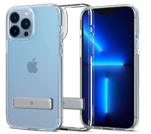 TORRAS Clear case for iPhone 13 Pro Max with Stand