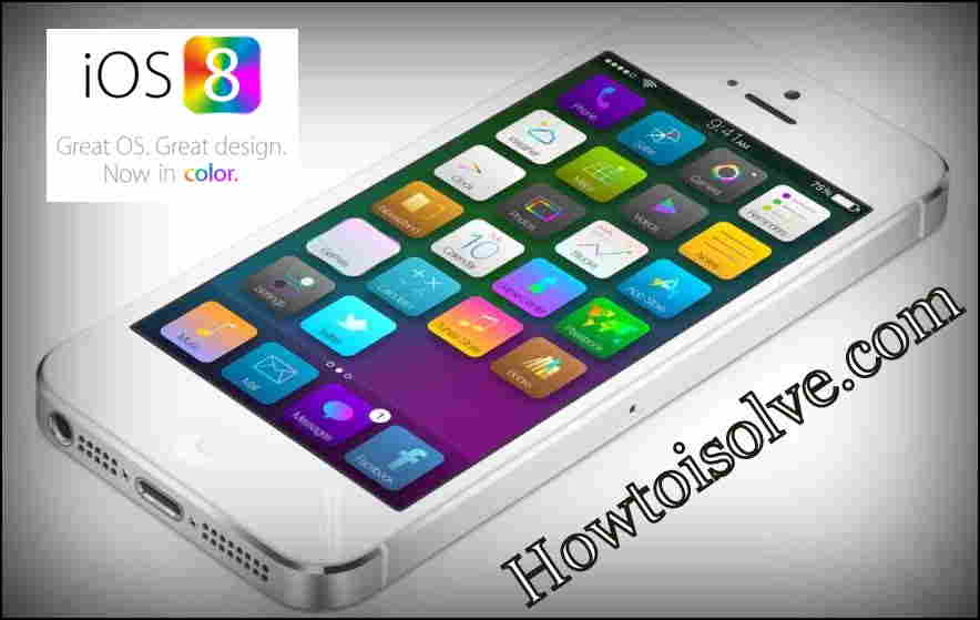 Features of iOS 8 -