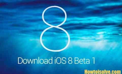install iOS Beta 1 Steps