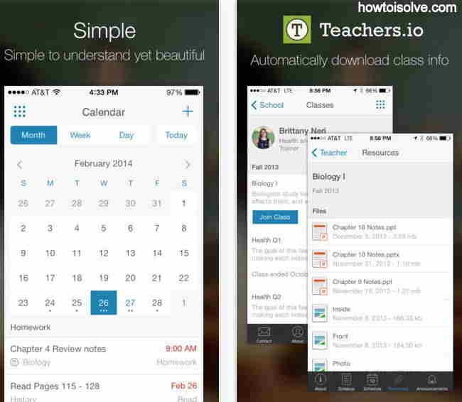 Caliber Education App - myHomework Student Planner for all