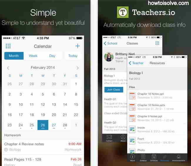 Caliber Education App - myHomework Student Planner for all