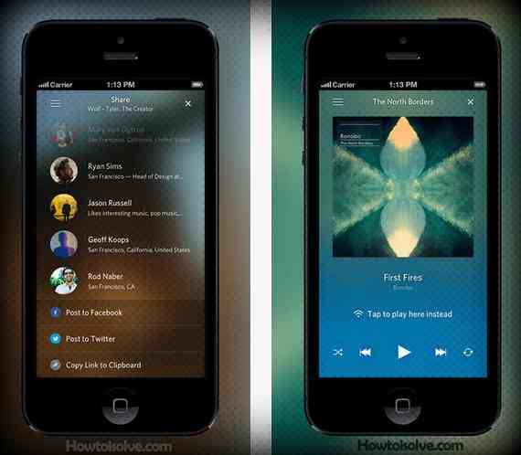 Best music apps for iOS device
