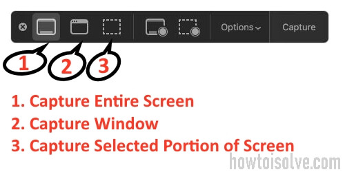 Capture Screenshot on MacOS