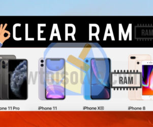 Clear RAM on iPhone