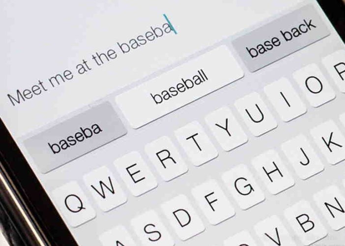 Disable Quicktype text in iOS 8 instantly