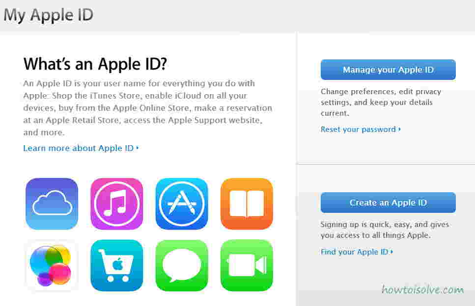 Edit Apple Account and Apple ID