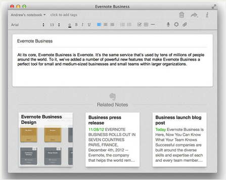 Evernote Mac apps for New Mac owners