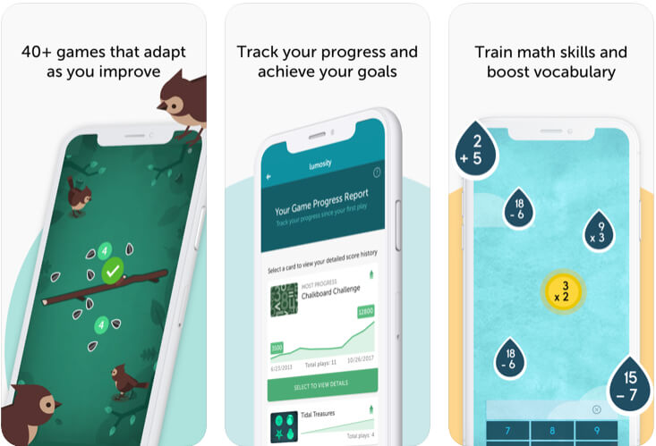 Lumosity- Brain Training apps for iPhone and iPad