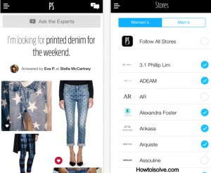 PS Dept. amazing fashion apps for iPhone and iPad