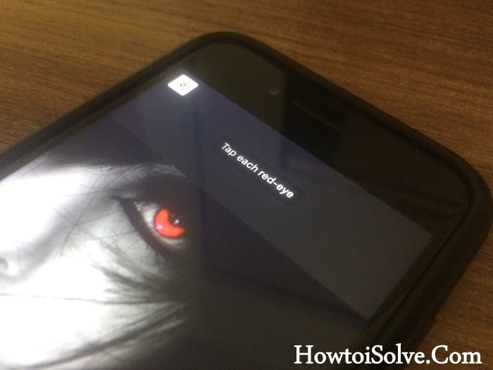 Remove Red Eye from Photos on iPhone X - 8 Plus- 7 plus- 6S Plus
