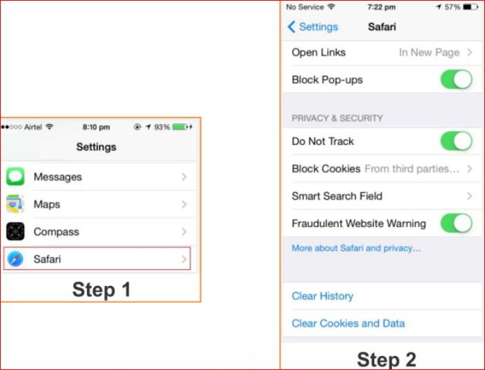 how to enable cookies on iphone how to increase security in iphone and iphone 6 and 2146