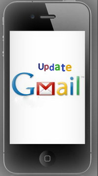 Update Gmail app for iPhone