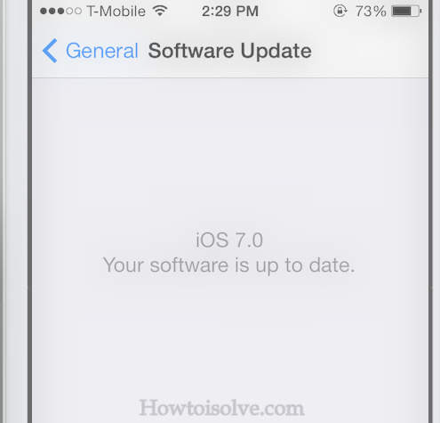 check software upto date