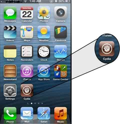 install cydia in iPhone,iPad and feel customize look
