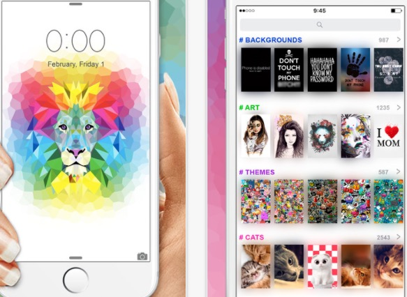 1 Top Chart of Wallpapers for iPhone and iPad