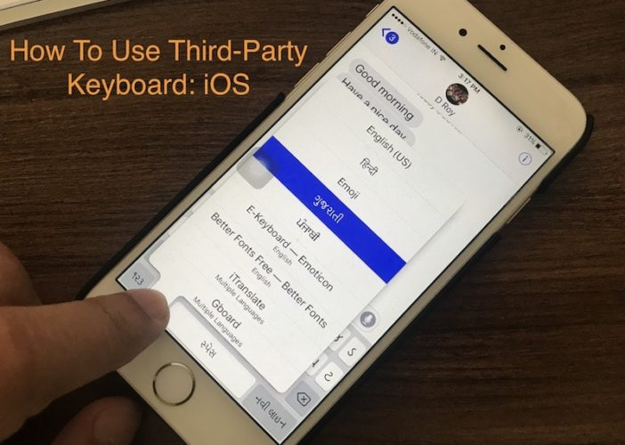 1 Use Third-Party Keyboard on iPhone and iPad