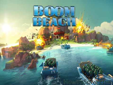 Best Game for iPad Air and iPad Mini Boom Beach