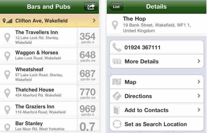 Top Best Bar and Pub Finder Apps for iPhone