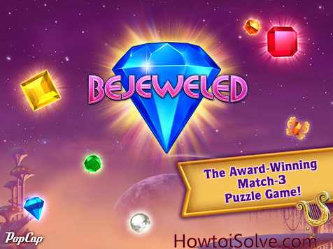 Best Game for iPad Air and iPad Mini Bejeweled HD