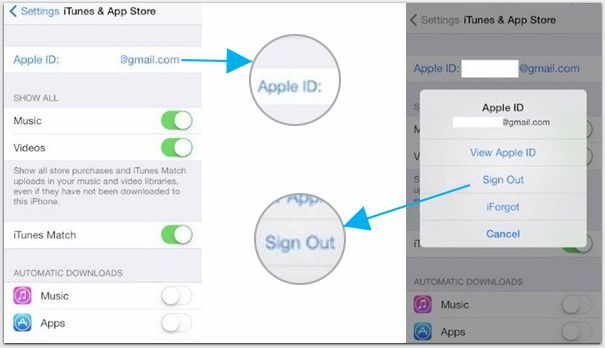 how to change itunes account on iphone how to change the itunes account on iphone and tips 1246