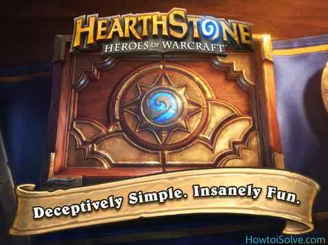 Best Game for iPad Air and iPad Mini Hearthstone Heroes of Warcraft