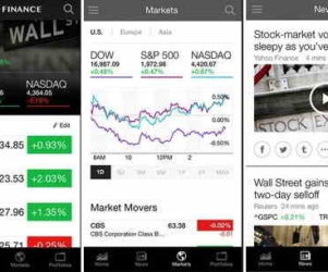 nice Stock exchange App for iOS devices