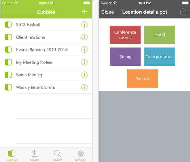 Cubby - App for Cloud