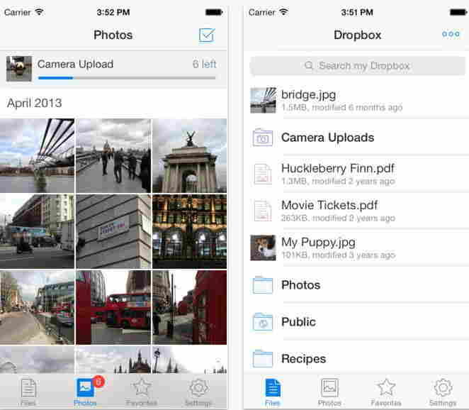Dropbox - Cloud storage app for iPhone and iPad
