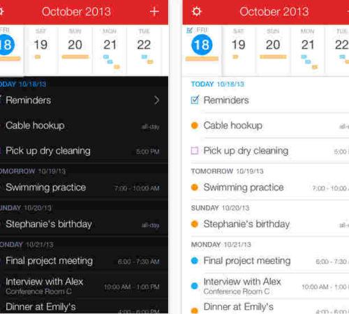 Fantastical 2 best calendar apps for iPhone