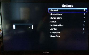 General - Update Apple TV software