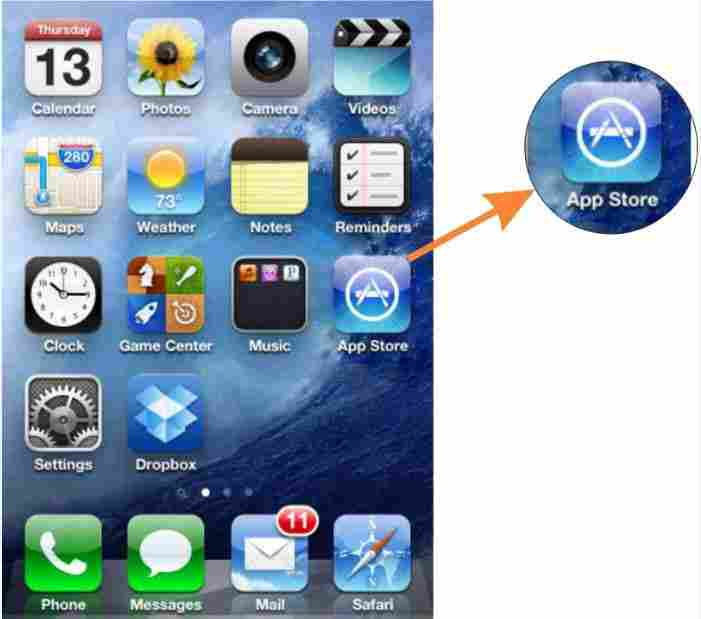 Download purchased iTunes App after uninstall