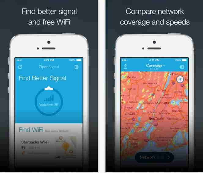OpenSignal - Boost network signal in iPhone