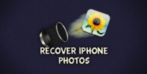 Recover deleted photos on iOS 11, iOS 10, iOS 7 in iPhone, iPad