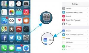 How to enable find my iPhone in iOS 7 and iOS 8