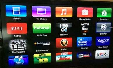 Update Apple TV software - Setting