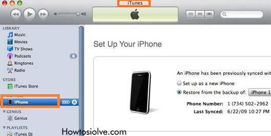 iPhone, iPad in Un-Jailbreak Mode