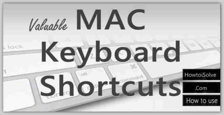 useful Shortcuts for Mac-Top Best