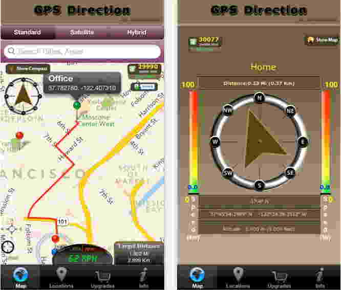 GPS Direction - GPS app for CAR