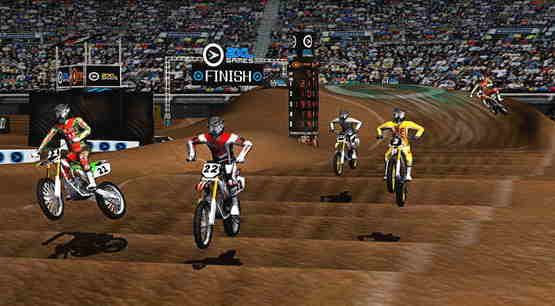 2XL Supercross HD  Best Racing Games for iPhone