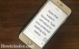 4 Customize or Change text size on iPhone and iPad