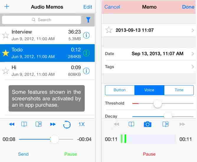 Audio Memos- Best voice recorder