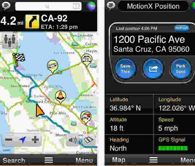 MotionX GPS Drive - Best location finder apps
