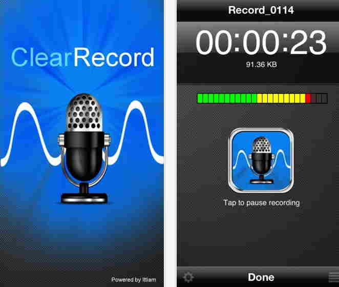 ClearRecord Premium - Voice recorder
