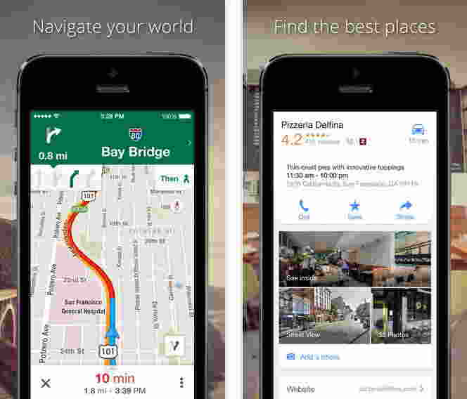 Google Maps - Free GPS apps