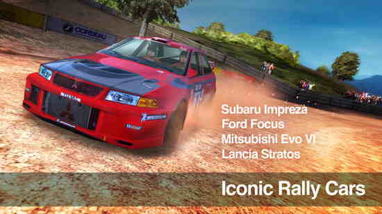 Coin McRae Rally  Best Racing Game for iPhone