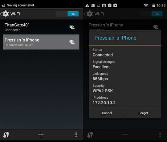 Enable Personal hotspot in iPhone 6 iPhone 6 plus and iOS 8