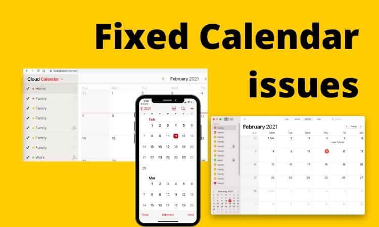 Fix 403 Error on Calendar on Mac iPhone ,iPad (1)