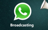 create a broadcast list in Whatsapp to send a message to multiple peoples at once