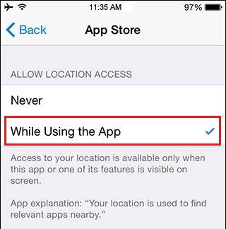 App settings - iOS 8 battery saving tips